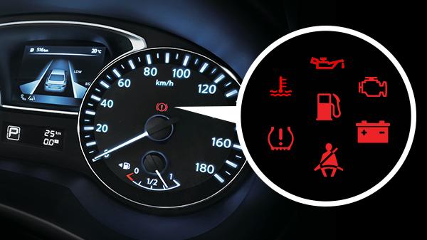 Lampu Indikator Pada Mobil, sumber Harian Haluan
